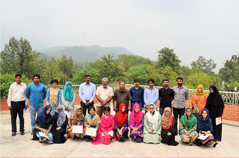 A group photo of participants of workshop, on Citation Management by using Mendeley Software, at PASTIC, Islamabd (19<sup>th</sup>, July 2018)