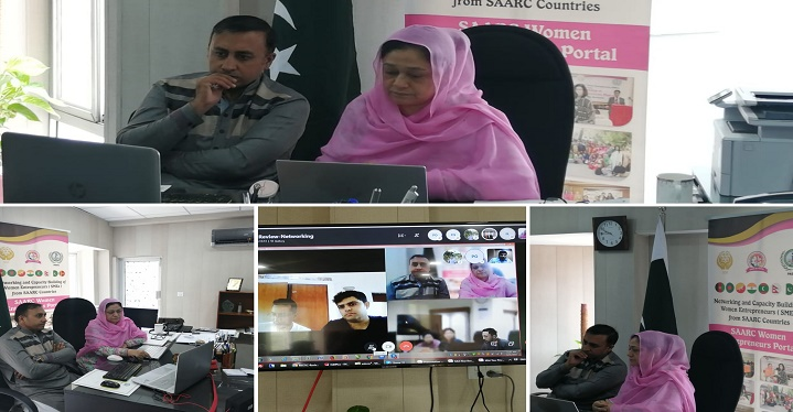 NCBWESC Project Mid Review Meeting between SAARC Development Fund and Implementing Agencies held on 24 June 2019 on Skype