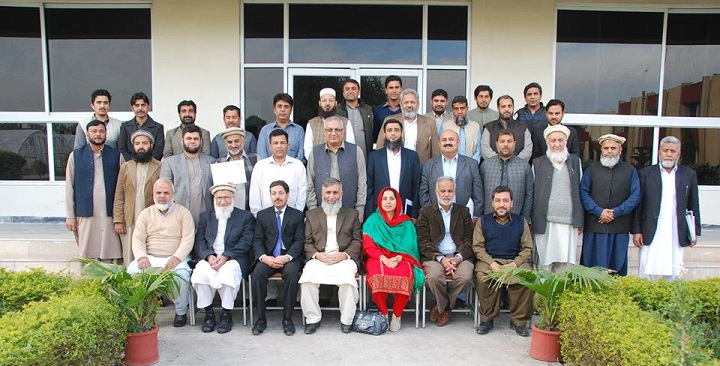 Group Photo with Dr. Wisal Muhammad (Director NIFA), resource person (Zahoor Ahmad), Ghazala Ali Khan (Dy. Director PASTIC and along with scientists of NIFA Peshawar (15 November, 2018).